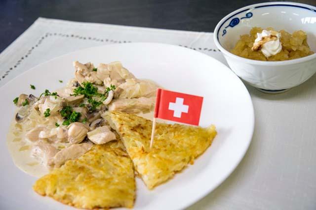 マンマメルカート 世界を食から スイス